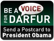 Be a Voice for Darfur: Send a Postcard to President Obama