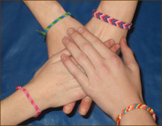 Crochet Bracelets for Charity