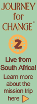 Journey for change 2 Live from South Africa!