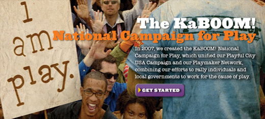 Learn more about the KaBOOM! National Campaign for Play.