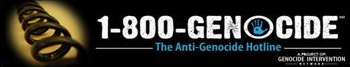 1-800-Genocide: The Anti Genocide Hotline